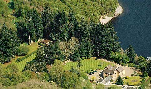 Tigh Na Bruach Bed & Breakfast - aerial view
