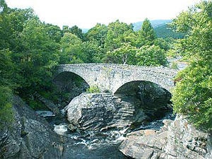 Telford Bridge at Invermoriston (near Tigh Na Bruach)